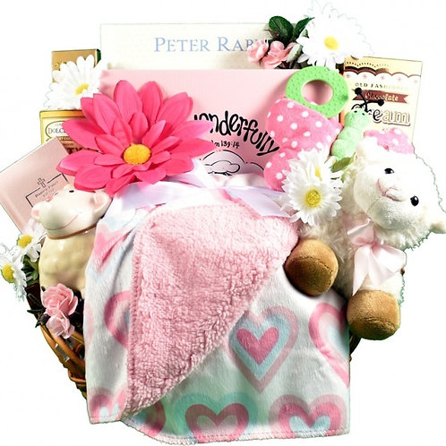 Fearfully and Wonderfully Made, Christian Baby Basket