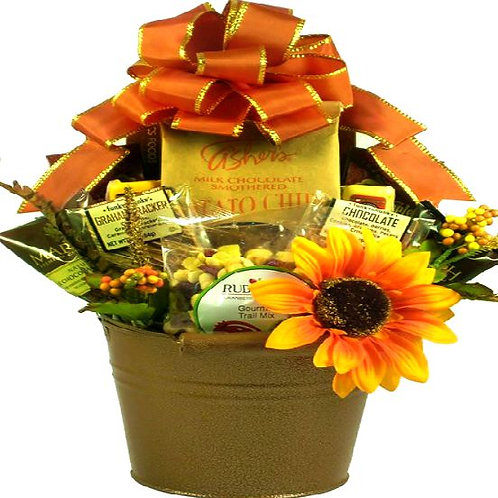 Rustic Fall Gift Basket