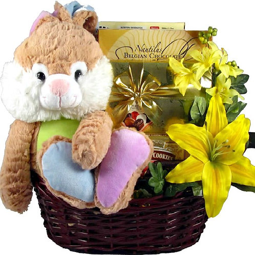 Hopping Big Easter Basket Too Cute For Words
