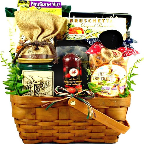 The Duke, Western Themed Gift Basket For Guys, He Will Love It