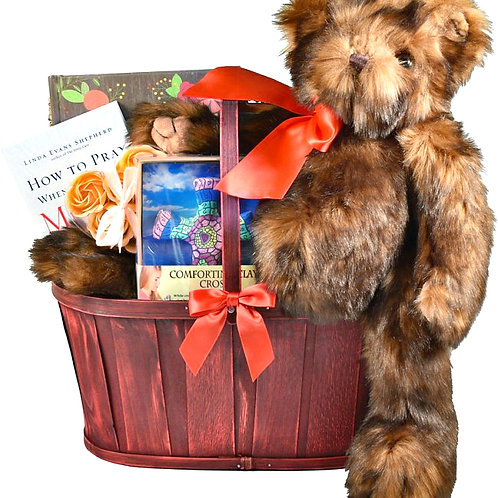 Comfort Gift Basket For Those Going Through Difficult Times
