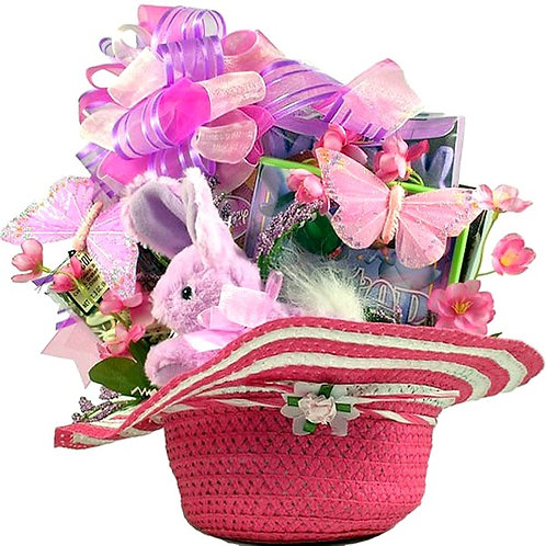 Easter Gift Basket, Surprise A Special Little Girl This Easter