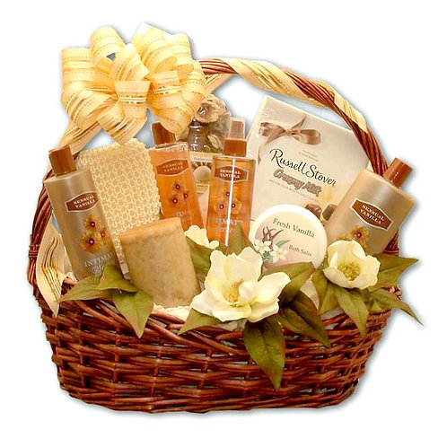 Luxury Aromatherapy Bath & Body Gift Basket