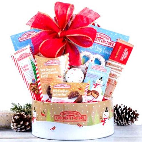 Chocolate Winter Splendor Gift Basket