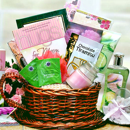 Hugs For Mom, Relaxing Mother's Day Gift Basket