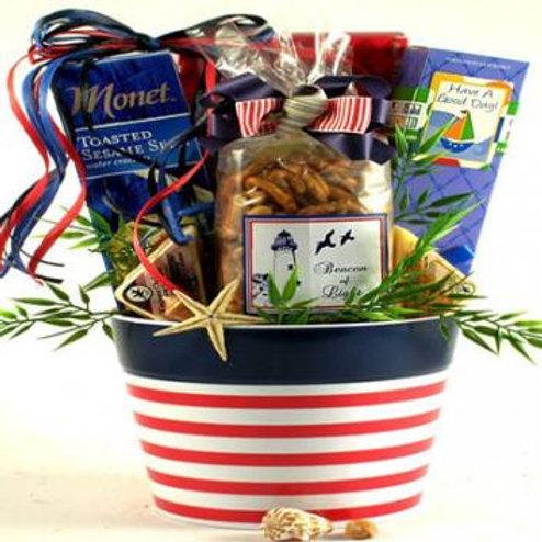 Beacon of Light, Gourmet Gift Basket