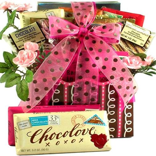 Love Letters, Romantic Gift Basket