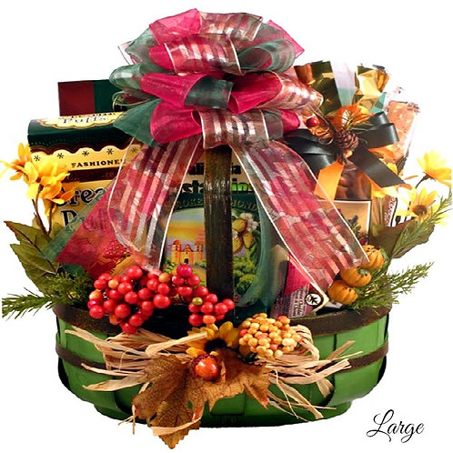 Fall Celebration Gourmet Gift Basket