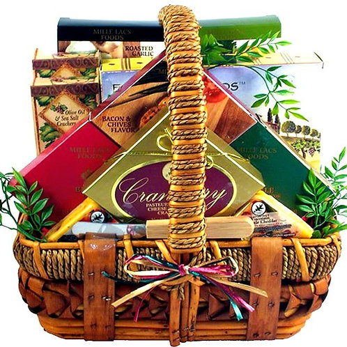 Cheese Gift Basket for Cheese Lovers