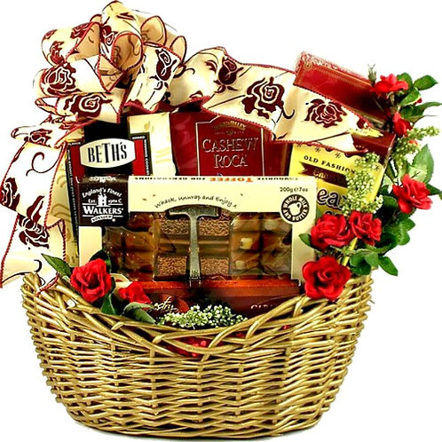 A Gorgeous Gourmet Gift Basket For Her