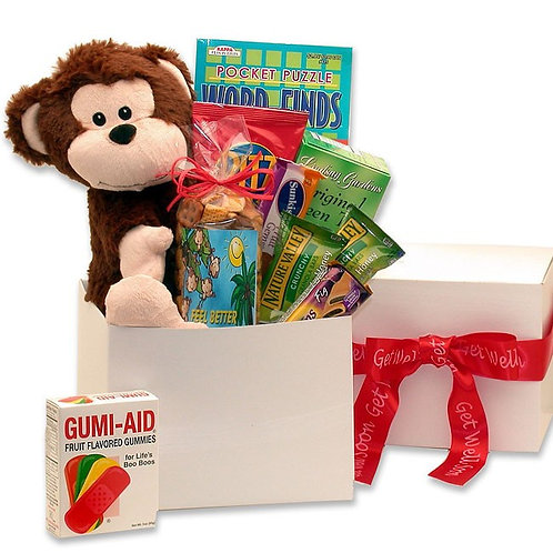 Don't Monkey Around, Get Well Soon Care Package