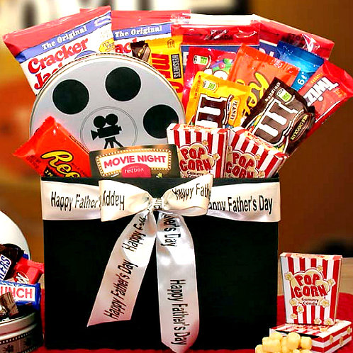 Father's Day Movie Fest Gift Box For Dad