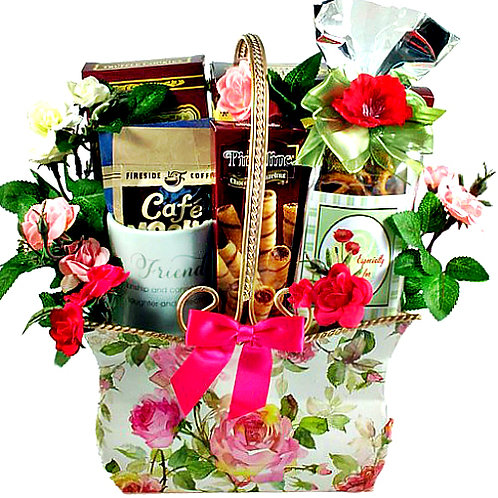 Friendship Surprise Gift Basket For A Special Friend