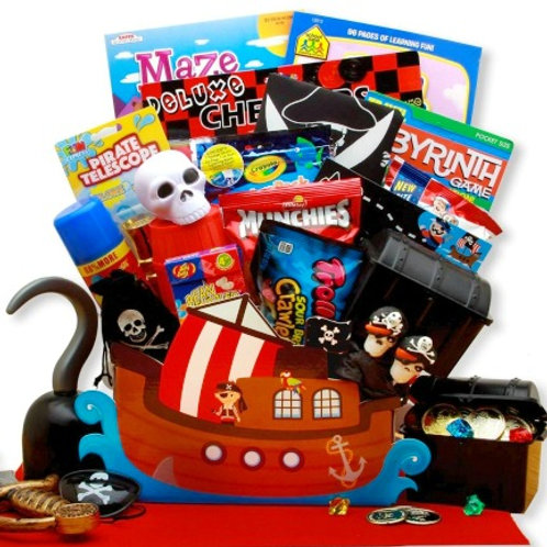 A Pirate's Life, Fun Filled Gift Box For Your Favorite Little Person