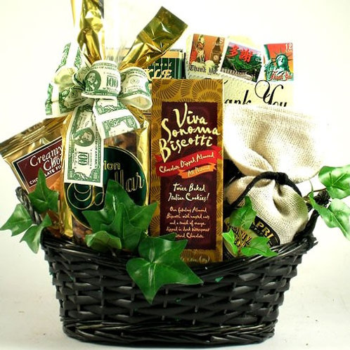 Many Thanks Gift Basket