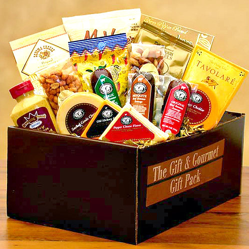 Meat and Cheese Snacks Gift Package