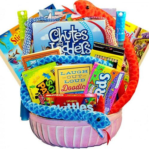 Kids Zone, Fun Activity Gift Basket For Kids