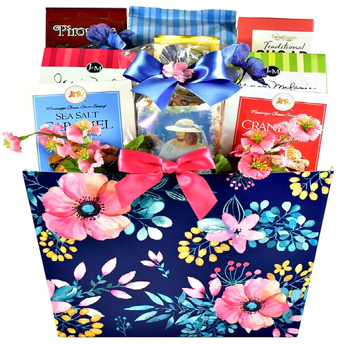 Welcoming Gourmet Gift Basket Of Mouth Watering Goodness