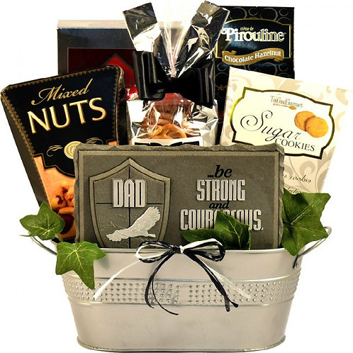World Class Dad, A Handsome Gift Basket For Fathers