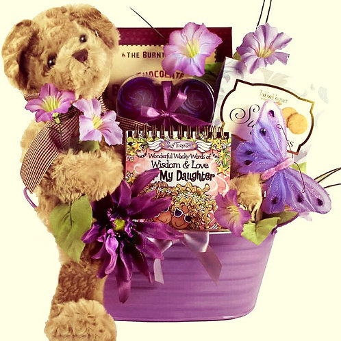 Bear Hugs For Daughters, Gift Basket For A Special Daughter