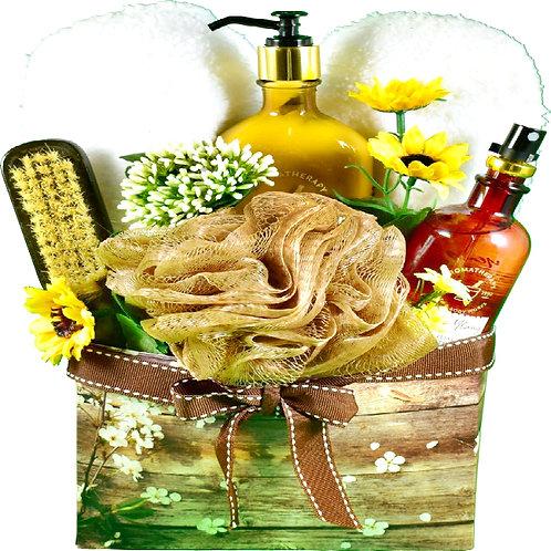 Rustic Elegance Beauty Box, Lovely Pamper Gift For Her