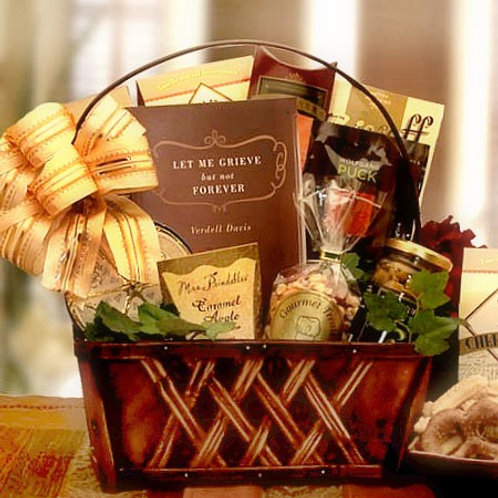 A Time To Grieve, Sympathy Gift Basket