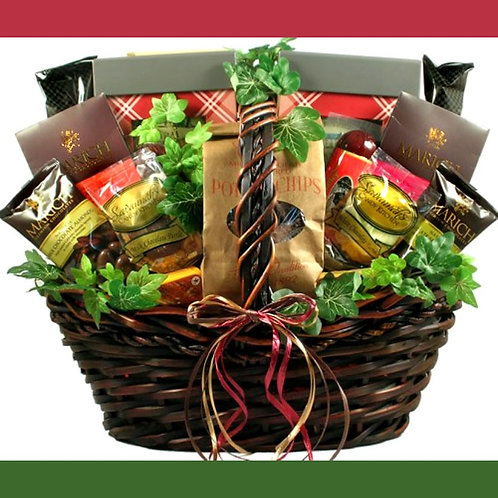 Over-The-Top Gourmet Food Basket