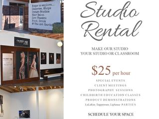Rent Our Studio