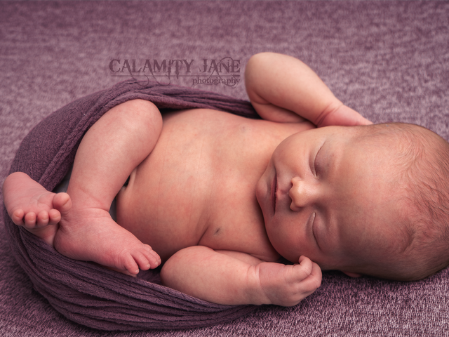 Pretty in Purple - Las Vegas Newborn Photographer