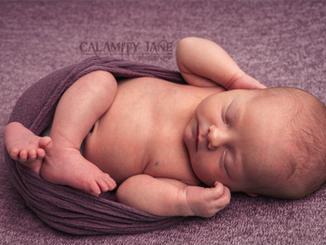 Pretty in Purple - Las Vegas Newborn Photographer