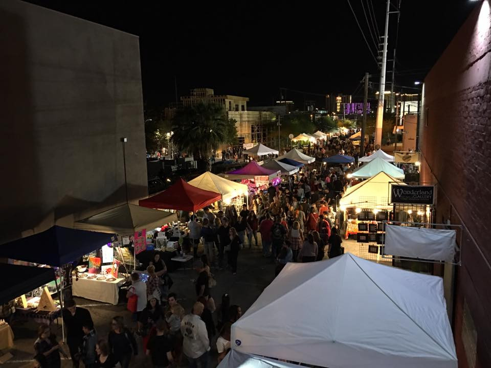 First Friday at Art Square