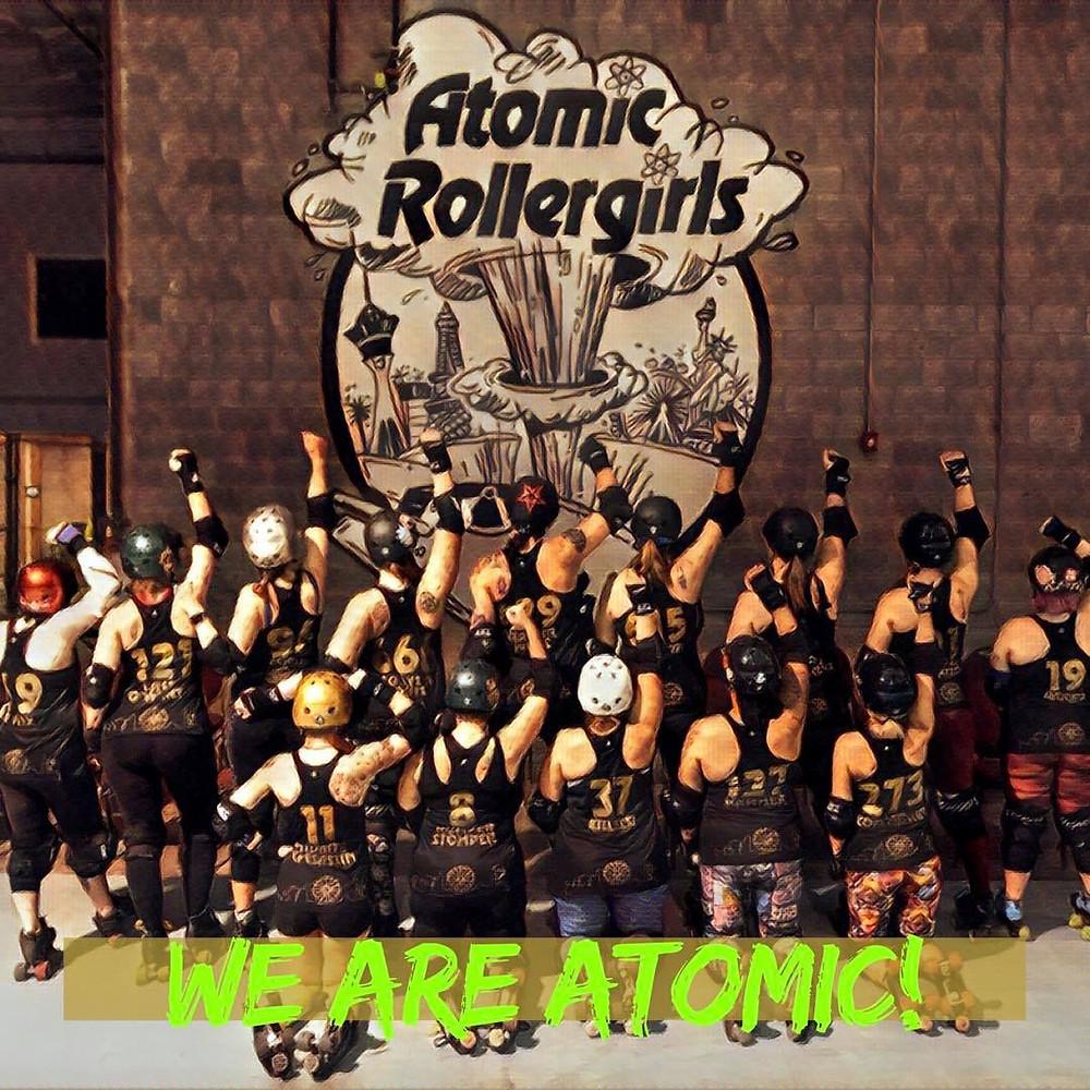 Atomic Rollergirls, roller derby Las Vegas