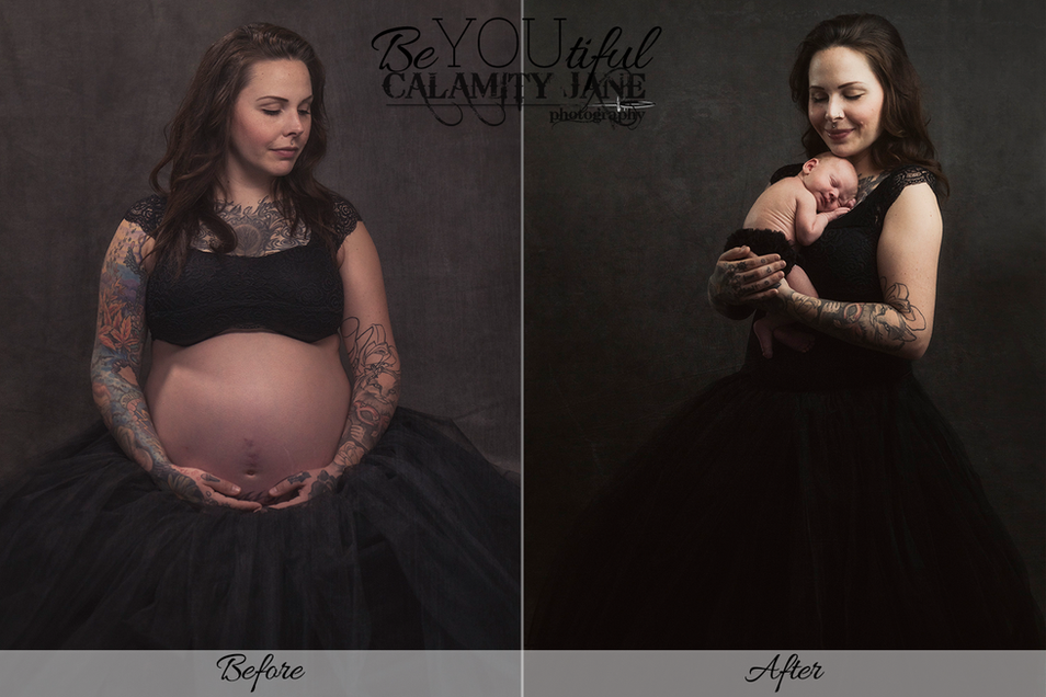 Before and After - Maternity Edition