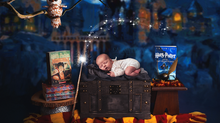 Harry Potter Newborn Photography