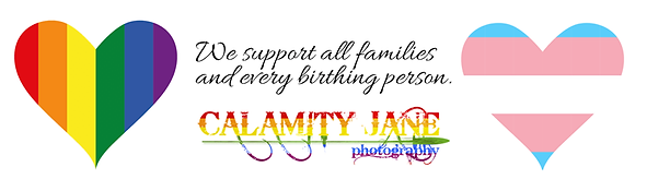Calamity Jane suppors all families, LGBTQ and transgender birthing persons.