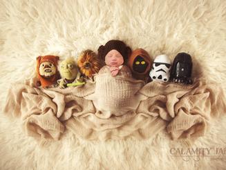 Star Wars Baby - Las Vegas Newborn Photographer