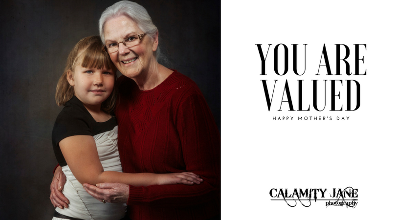 You are valued - exist in portraits.
