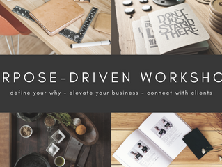 The Purpose-Driven Business Workshop