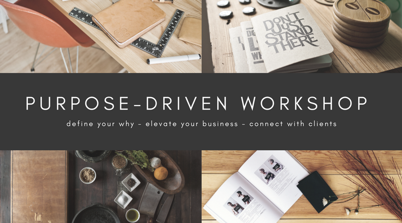 The Purpose-Driven Workshop - another great event hosted by Calamity Jane Photography Studio in Las Vegas