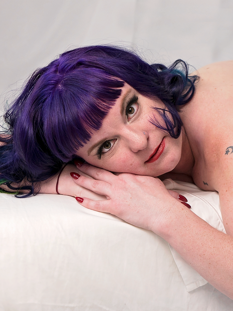 White Sheets, Purple Hair