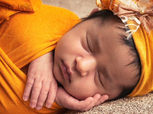 Yellow - Las Vegas Newborn Photographer