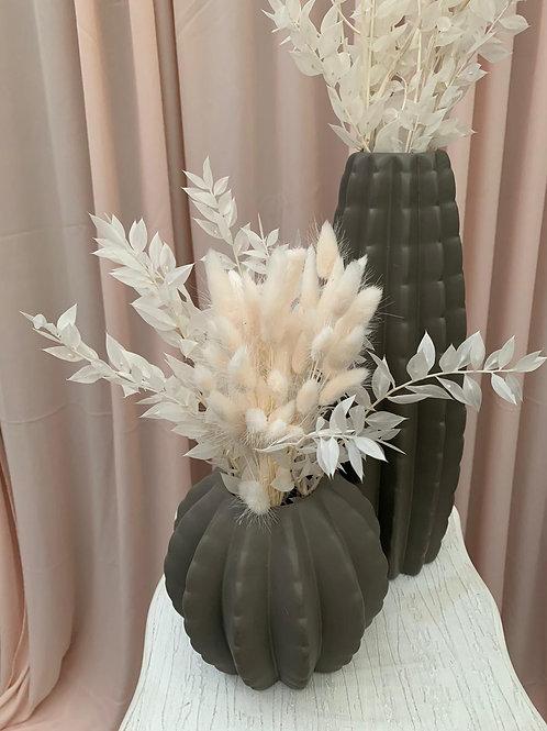 Lipsy Grey Ceramic Vase