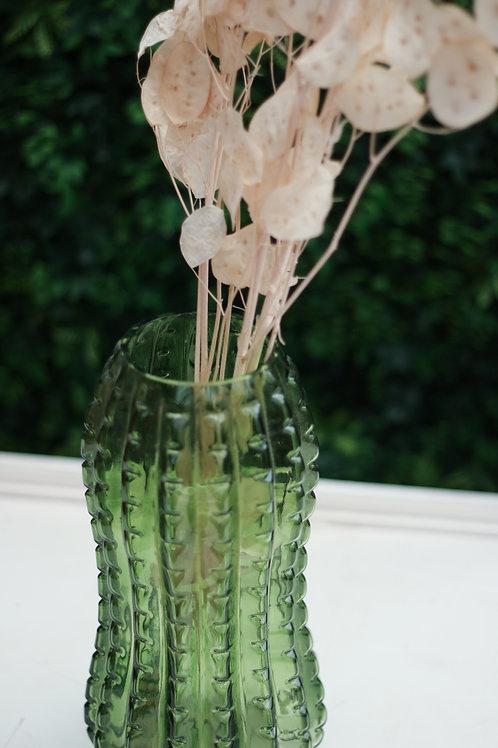Green Transparent Vase