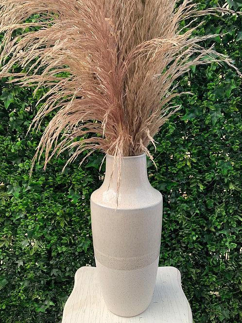 Ceramic Cream Vase