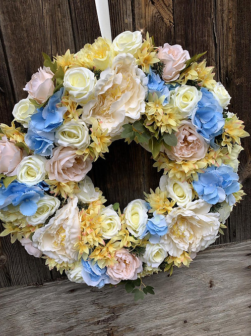 Spring/Summer Door Wreaths - Blue