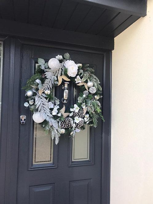 'Jack Frost' Door Wreath