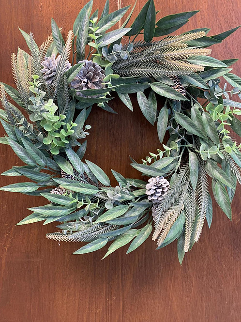 Green Cone Wreath