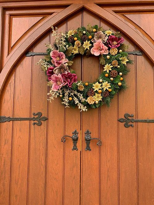 'Lady Loves' Door Wreath