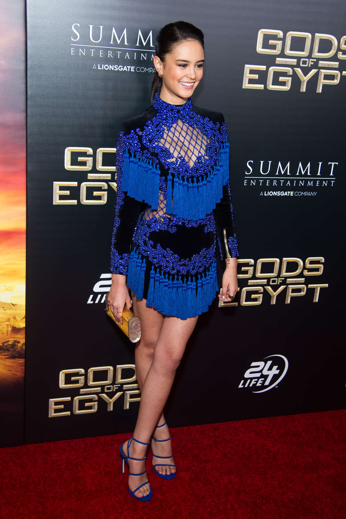 a42b742a jacqueline macinnes wood style balmain fashion blue tassel dress
