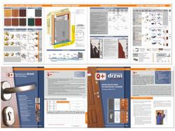 Katalog drzwi Loxley - rozkładówka